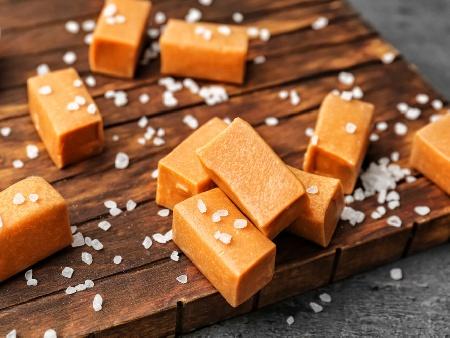 Домашни карамелени бонбони - снимка на рецептата